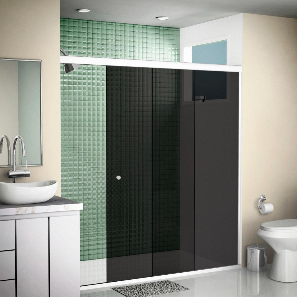 Diferenças entre um box de vidro e um box de acrílico para banheiros #43614A 1024 1024